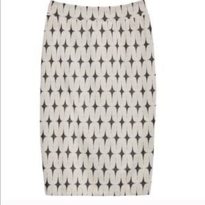 Renee C Patterned Skirt